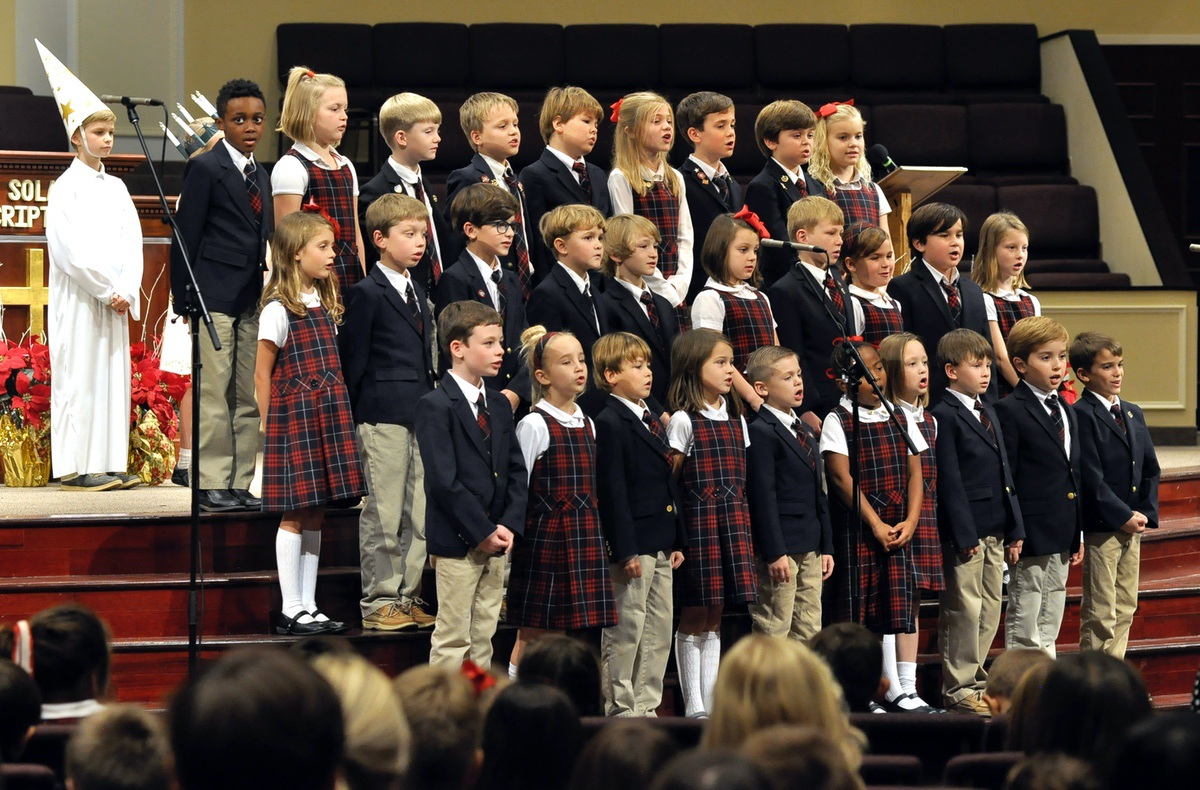 Trinity Classical Christian School puts on Christmas play ...