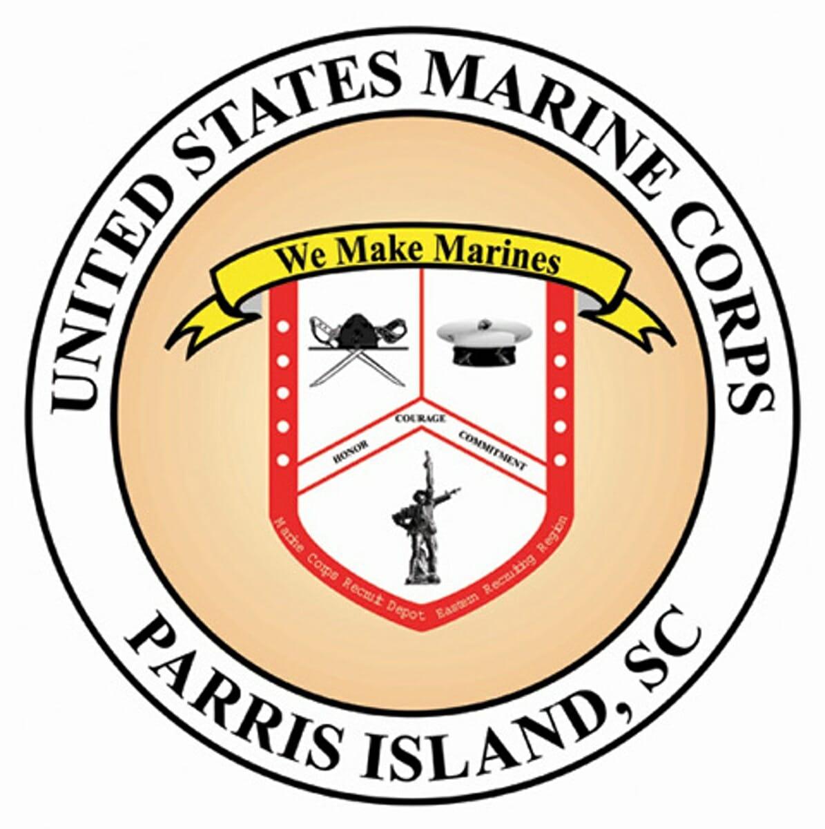 MCRD Parris Island Logo