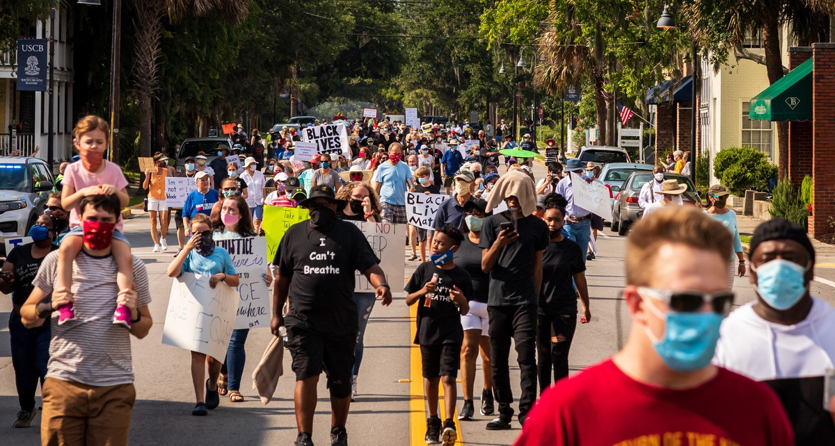 The March for Justice was held on Sunday, June 21.