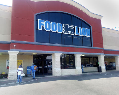 The BiLo on Parris Island Gateway re-opened as the newest Food Lion grocery store on Wednesday, March 17. Photo: Bob Sofaly